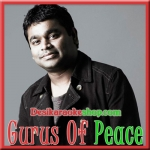Gurus Of Peace - (With Chorus) - Vande Mataram - 1997 - (VIDEO+MP3 Format)