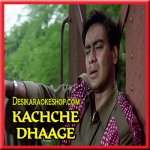 Tere Bin Nahi Jeena (Oopar Khuda - Male Version) - Kachhe Dhage - 1999 - (VIDEO+MP3 Format)