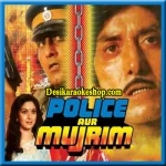 Dil Ghabrata Hai - Police Aur Mujrim - 1992 - (VIDEO+MP3 Format)