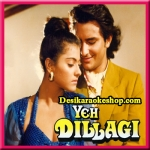Hothon Pe Bas Tera Naam Hai - Yeh Dillagi - 1994 - (VIDEO+MP3 Format)