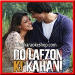 Ankhiyaan - Do Lafzon Ki Kahani - 2016 - (MP3 Format)