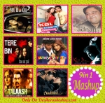 9 Supper Hit Songs Mashup Karaoke (MP3 Format)