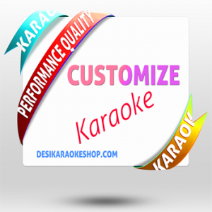 20 Customized Karaoke MP3 (Discount Pack)