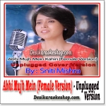 Abhi Mujh Mein Kahin (Unplugged Female Version) - Sniti Mishra - (MP3 Format)