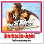 Meherbaan (Reprise) - Bang Bang - 2014 - (VIDEO+MP3 Format)